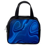 Rendering Streak Wave Background Classic Handbag (Two Sides) Back
