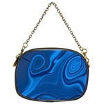 Rendering Streak Wave Background Chain Purse (Two Sides) Front