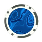 Rendering Streak Wave Background Poker Chip Card Guard (10 pack) Front