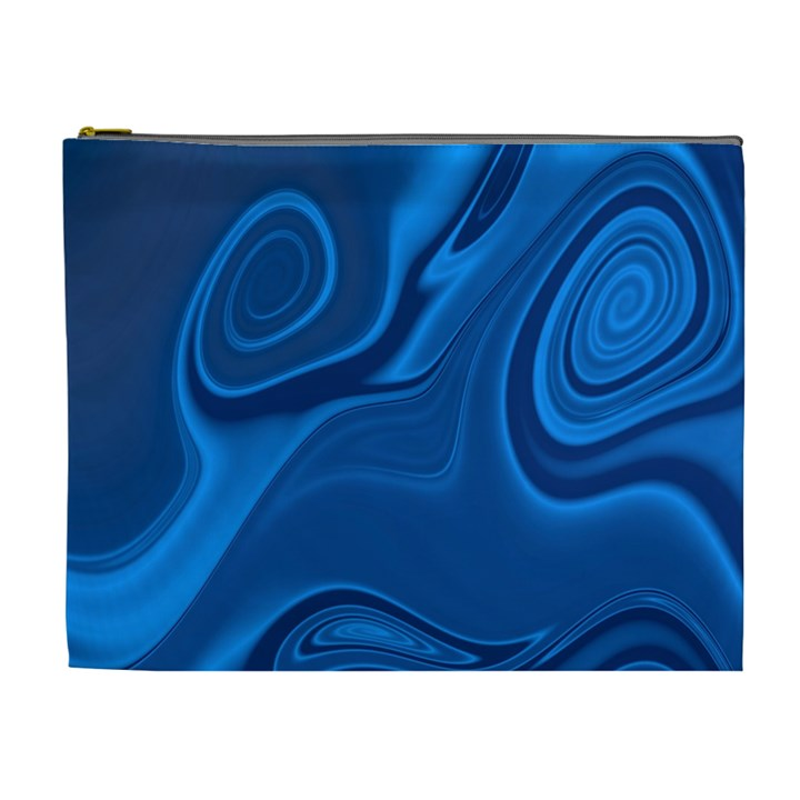 Rendering Streak Wave Background Cosmetic Bag (XL)