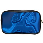 Rendering Streak Wave Background Toiletries Bag (Two Sides) Front