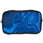 Rendering Streak Wave Background Toiletries Bag (Two Sides) Back