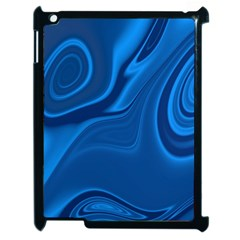 Rendering Streak Wave Background Apple Ipad 2 Case (black)