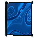 Rendering Streak Wave Background Apple iPad 2 Case (Black) Front