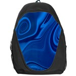 Rendering Streak Wave Background Backpack Bag Front