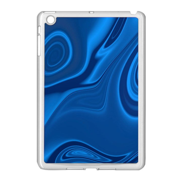 Rendering Streak Wave Background Apple iPad Mini Case (White)