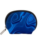 Rendering Streak Wave Background Accessory Pouch (Small) Front