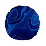Rendering Streak Wave Background Standard 15  Premium Flano Round Cushions Front