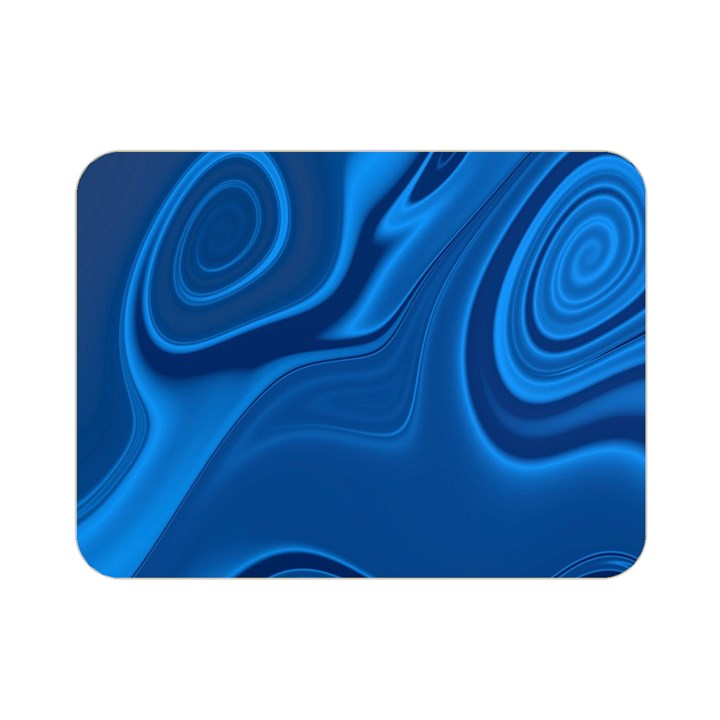 Rendering Streak Wave Background Double Sided Flano Blanket (Mini)