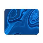 Rendering Streak Wave Background Double Sided Flano Blanket (Mini)  35 x27  Blanket Back