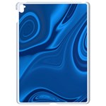 Rendering Streak Wave Background Apple iPad Pro 9.7   White Seamless Case Front
