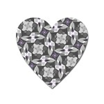 Ornament Pattern Background Heart Magnet Front