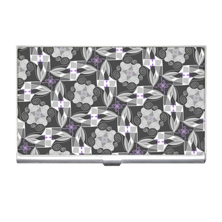 Ornament Pattern Background Business Card Holder