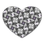 Ornament Pattern Background Heart Mousepads Front