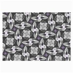 Ornament Pattern Background Large Glasses Cloth (2-Side) Front