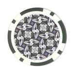 Ornament Pattern Background Poker Chip Card Guard Back