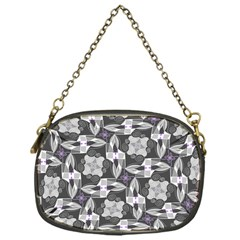 Ornament Pattern Background Chain Purse (one Side)