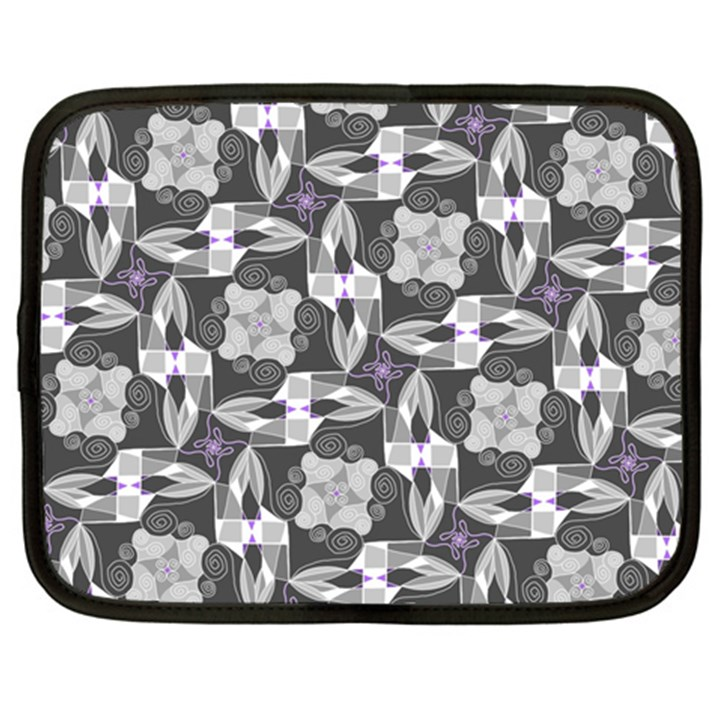 Ornament Pattern Background Netbook Case (XL)