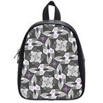 Ornament Pattern Background School Bag (Small) Front