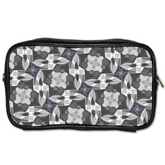 Ornament Pattern Background Toiletries Bag (two Sides)