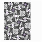 Ornament Pattern Background Large Garden Flag (Two Sides) Back