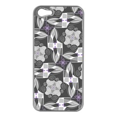 Ornament Pattern Background Apple Iphone 5 Case (silver)