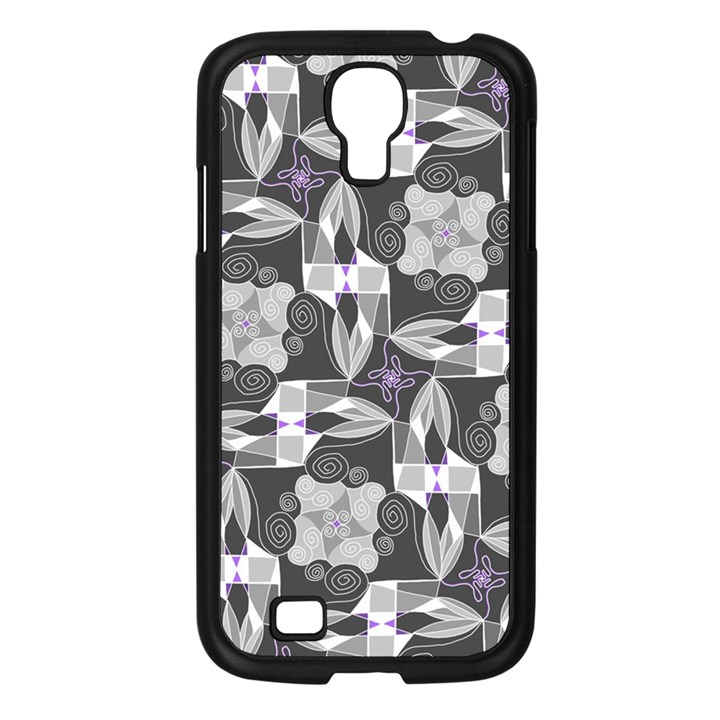 Ornament Pattern Background Samsung Galaxy S4 I9500/ I9505 Case (Black)