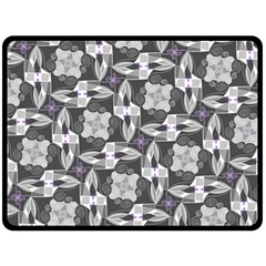 Ornament Pattern Background Double Sided Fleece Blanket (large)