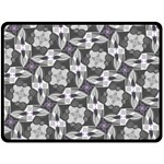 Ornament Pattern Background Double Sided Fleece Blanket (Large)  80 x60  Blanket Front