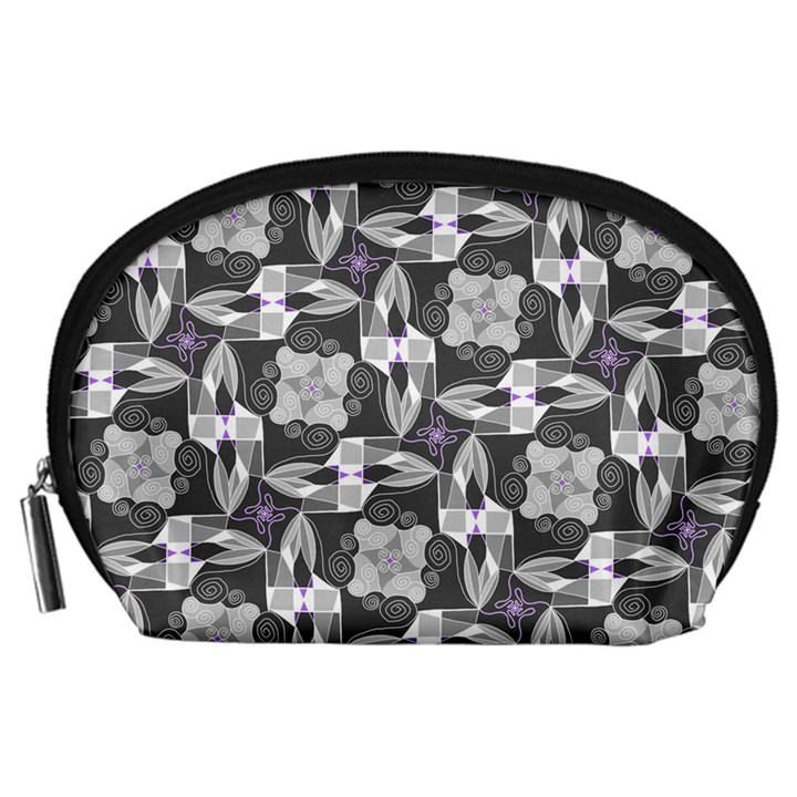 Ornament Pattern Background Accessory Pouch (Large)