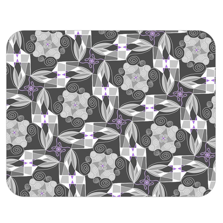Ornament Pattern Background Double Sided Flano Blanket (Medium)