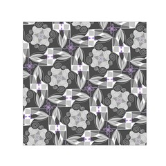 Ornament Pattern Background Small Satin Scarf (square)