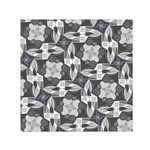 Ornament Pattern Background Small Satin Scarf (Square) Front