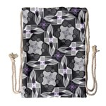 Ornament Pattern Background Drawstring Bag (Large) Front