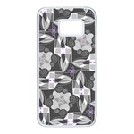Ornament Pattern Background Samsung Galaxy S7 White Seamless Case Front