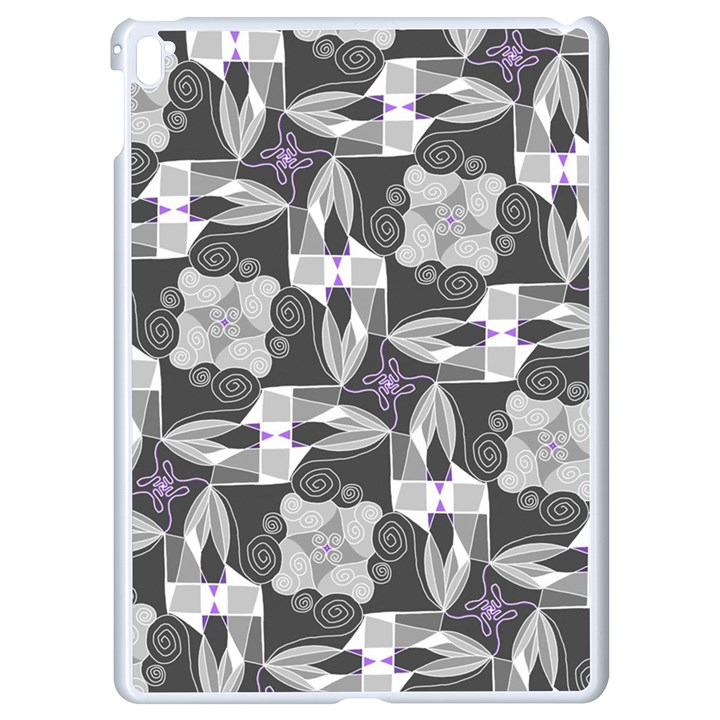 Ornament Pattern Background Apple iPad Pro 9.7   White Seamless Case