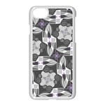 Ornament Pattern Background Apple iPhone 8 Seamless Case (White) Front