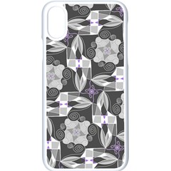 Ornament Pattern Background Apple Iphone Xs Seamless Case (white)