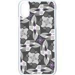 Ornament Pattern Background Apple iPhone XS Seamless Case (White) Front