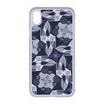 Ornament Pattern Background Apple iPhone XR Seamless Case (White) Front