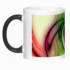 Heart Love Luck Abstract Morph Mugs by Pakrebo