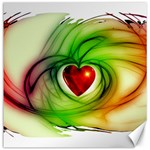 Heart Love Luck Abstract Canvas 12  x 12  12 x12  Canvas - 1