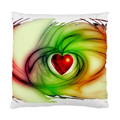 Heart Love Luck Abstract Standard Cushion Case (two Sides) by Pakrebo