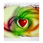 Heart Love Luck Abstract Shower Curtain 66  x 72  (Large)  58.75 x64.8  Curtain
