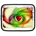 Heart Love Luck Abstract Netbook Case (XL) Front