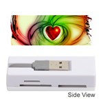 Heart Love Luck Abstract Memory Card Reader (Stick) Front