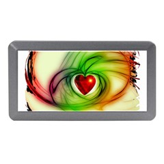 Heart Love Luck Abstract Memory Card Reader (mini) by Pakrebo
