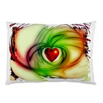 Heart Love Luck Abstract Pillow Case (Two Sides) Back