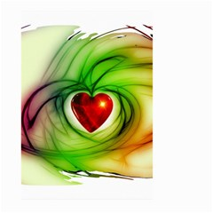 Heart Love Luck Abstract Large Garden Flag (two Sides) by Pakrebo