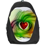 Heart Love Luck Abstract Backpack Bag Front